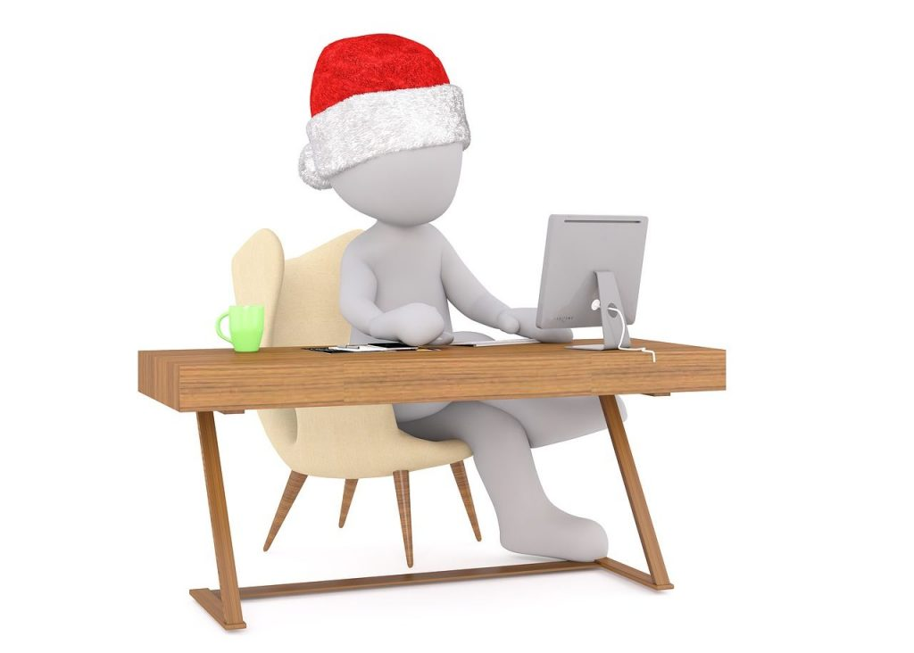Bewerbung vor Weihnachten